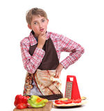 Сooking boy Stock Images