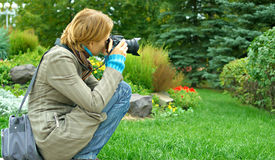 Ooking Through The Viewfinder Stock Images
