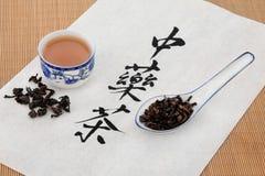 Oolong清凉茶 图库摄影