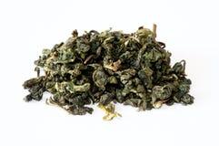Oolong grüner chinesischer Tee lizenzfreie stockfotos
