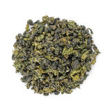 Oolong green tea heap from above Royalty Free Stock Photography