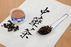 Oolong Herbal Tea Stock Photography
