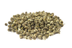 Oolong leaves rolled into balls Stock Photos