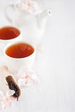 Oolong tea background Stock Images