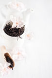 Oolong tea background Stock Photos