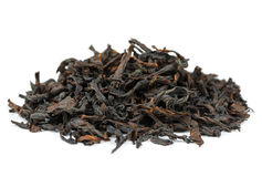 Oolong tea dahongpao. Isolated on white background Royalty Free Stock Images