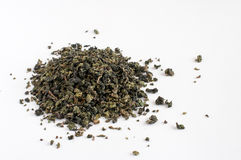 Oolong tea  leaves Royalty Free Stock Photos