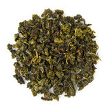 Oolong tea Milky. Blend raw isolated on pure white Royalty Free Stock Photo