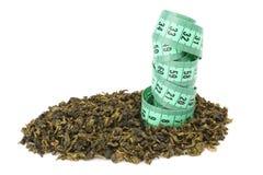 Oolong Tee und Meter Lizenzfreies Stockfoto