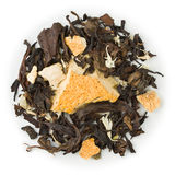 Oolong-Tee Zitrone-Kalk Stockfoto