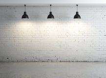 Oom con la lampada del soffitto Immagine Stock Libera da Diritti