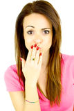 Ooops I made a mistake Royalty Free Stock Photo