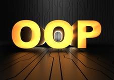 OOP - Objektorientierte Programmierung Stockbild