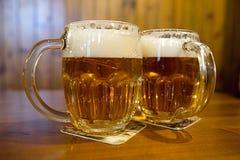 Ooriginal捷克皮尔逊啤酒 图库摄影