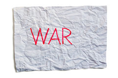 Oorlog Stock Fotografie