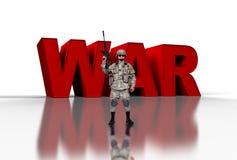 Oorlog concep Stock Foto's
