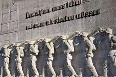 Oorlog herdenkings-I-Hamburg Stock Afbeeldingen