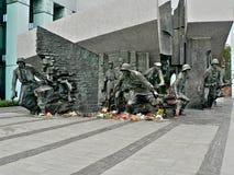 Oorlog II van Word monument Royalty-vrije Stock Afbeeldingen