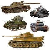 Oorlog van de wereld 2 tank Royalty-vrije Stock Afbeelding