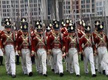 Oorlog van het Weer invoeren 1812 Stock Foto's