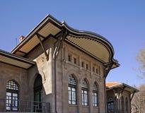 Oorlog van Onafhankelijkheidsmuseum in Ankara Turkije royalty-vrije stock afbeelding