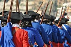 Oorlog van successie royalty-vrije stock afbeeldingen