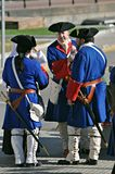 Oorlog van successie royalty-vrije stock foto