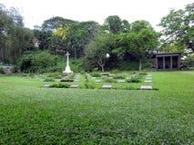 Oorlogsbegraafplaats Guwahati stock afbeelding