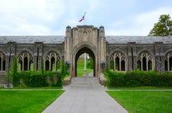 Oorlogsgedenkteken in Cornell University stock foto