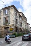 Oorlogsgeheugen in Mostar Stock Afbeelding