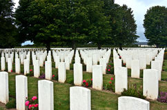 Oorlogsgraven Royalty-vrije Stock Fotografie