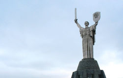 Oorlogsmonument in Kiev de Oekraïne Royalty-vrije Stock Foto's
