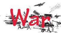 Oorlogspatroon vector illustratie