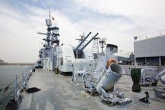 Oorlogsschepen Stock Foto