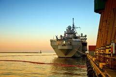 Oorlogsschip Royalty-vrije Stock Fotografie