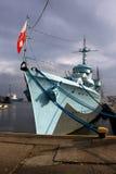 Oorlogsschip Royalty-vrije Stock Foto