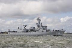 Oorlogsschip Stock Afbeelding