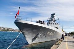 Oorlogsschip Stock Foto