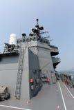 Oorlogsschip, Maritieme Zelf van Japan - defensiekracht Royalty-vrije Stock Foto's
