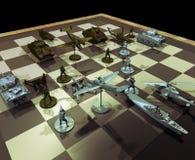 Oorlogsstrategieën royalty-vrije illustratie