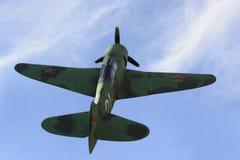 Oorlogsvliegtuig La-7 stock afbeelding
