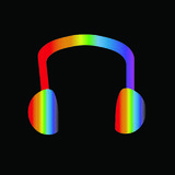 Oortelefoon Royalty-vrije Stock Afbeelding