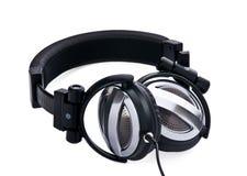 Oortelefoons 1 van de studio Stock Foto's