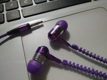 oortelefoons Royalty-vrije Stock Afbeeldingen