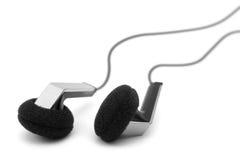 Oortelefoons, close-up Royalty-vrije Stock Foto