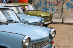 Oostduitse auto's Royalty-vrije Stock Fotografie