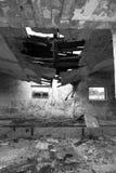 Oostduitse dilapidated boerderij Royalty-vrije Stock Afbeeldingen