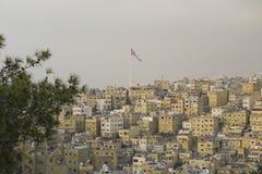 Oostelijk Deel van Amman Stock Afbeeldingen