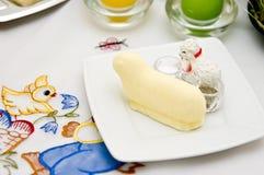 Oostelijk lam dat van boter wordt gemaakt Stock Afbeelding