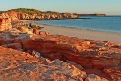 Oostelijk Strand, Kaap Leveque Stock Foto's